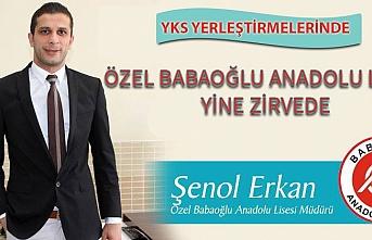 Özel Babaoğlu Anadolu Lisesi'nin YKS Başarısı
