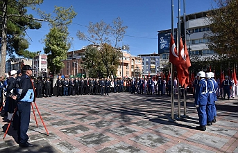 29 Ekim Cumhuriyet Bayramı Çelenk Koyma Töreni...