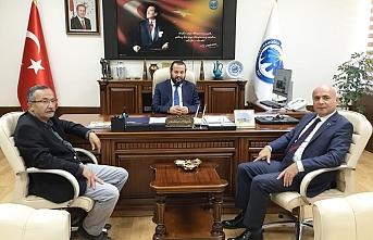 ANKARAMANDER'den Rektör Akgül'e Nezaket Ziyareti