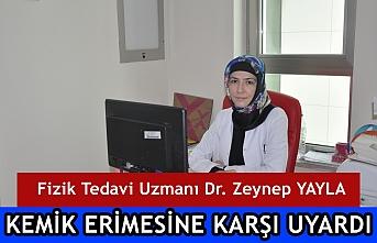 Fizik Tedavi Uzmanı Dr. Zeynep Yayla Kemik Erimesine...