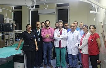 Karaman Devlet Hastanesinde 5 Bininci Anjiyografi...