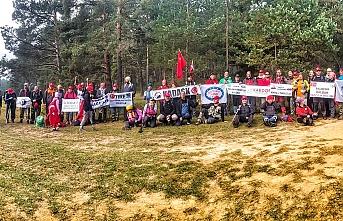 KARDOF Üyeleri İstiklal Yürüyüşüne Katıldı
