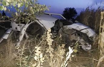 Kontrolden Çıkan Otomobil Araca Çarptı
