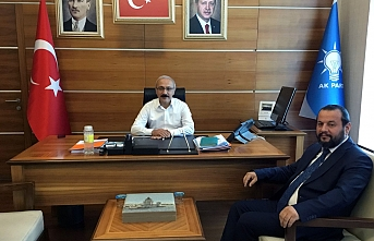 Rektör Akgül, Ak Parti Genel Başkan Yardımcısı...