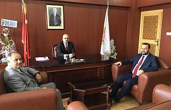 Rektör Akgül Baro Başkanı Av. Oktay Yılmaz'ı...