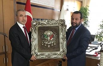 Rektör Akgül, Prof. Dr. Naci Bostancı'yı Ziyaret...