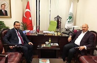 Rektör Akgül'den Hasan Türkyılmaz'a Ziyaret