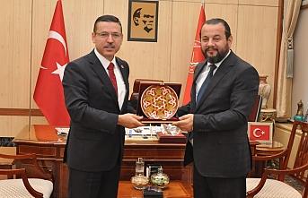 Rektör Akgül'den, Sayıştay Başkanına Nezaket...