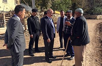 Vali Meral Paşabağı Köyünü Ziyaret Etti