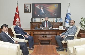 AK Parti Heyetinden Rektör Akgül'e Ziyaret