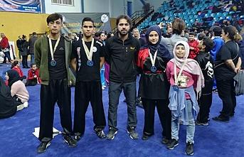 Karaman Wushu Kung Fu Takımı Madalyalarla Döndü