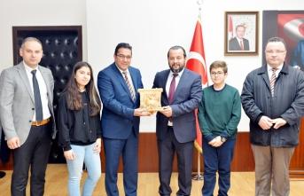 Bilim ve Sanat Merkezinden Rektör Akgül'e Ziyaret