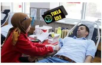 Bir Ünite Kan Verebilmek İçin Yarıştılar