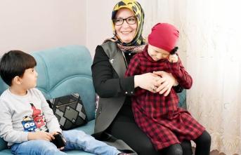 Zehra Meral Evde Eğitim Gören Hatice Nur'un...