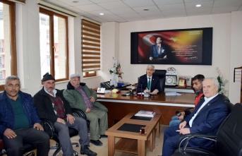 İl Genel Meclis Başkan ve Üyelerinin Ziyaretleri...