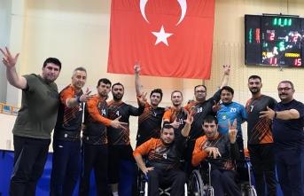 Oturarak Voleybol Türkiye Kupasından Üçüncülükle...