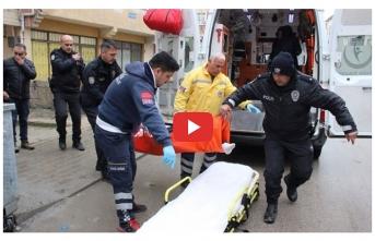 Evinde Başından Silahla Vurulan Şahıs Hastanede...