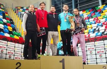 Genç Atlet Yavuz Şalkacı'dan Türkiye Şampiyonluğu