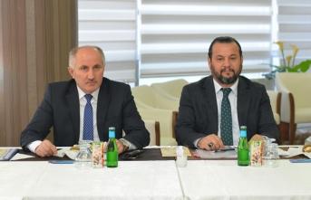 KMÜ Güvenlik Koordinasyon Toplantısının Ev Sahipliğini...