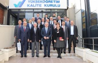 """Rektör Akgül """"2019 Yılı Dış Değerlendirme..."""