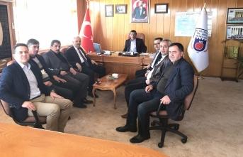 SGK ve İş-Kur İl Müdürlerinden Borsa Ziyareti