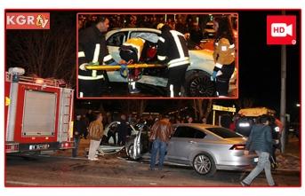 """Kaza Sonrası Sağlık Görevlilerine """"Yara izi..."""