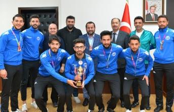 Üniversitelerarası Futbol 1. Lig Şampiyonasından...