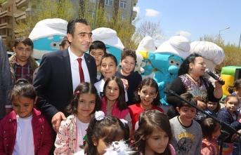 Çocuklarının Mutluluğuna Ortak Olan Başkan Kalaycı...