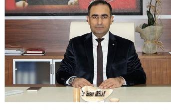 Dr. Arslan Ankara'ya Atandı