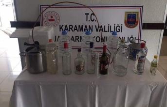 Jandarmandan Kaçak Alkol Operasyonu