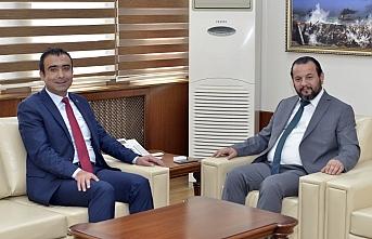 Başkan Kalaycı'dan Rektör Akgül'e İade-i...