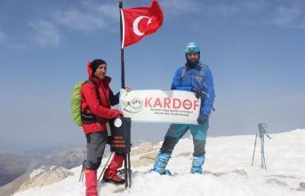 KARDOF Isparta Barla Dağı Tırmanışına Katıldı