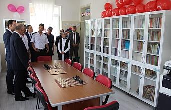 Kıraman Köyüne Kütüphane Açıldı