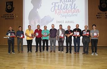 Karamanlı Yazarlara Plaket Takdim Edildi