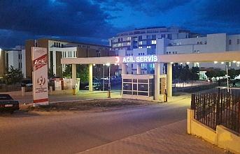 Devlet Hastanesi'nin Dış Cephesi Aydınlatıldı