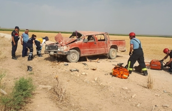 Afgan Uyruklu Sürücü Öldü Arkadaşları Yaralandı