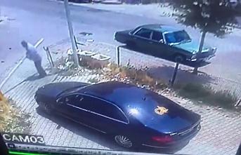 Aracıyla Çıkamadı Bariyer Kolunu Söktü