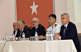 2019-2020 Eğitim-Öğretim Yılı Güvenlik Toplantısı...