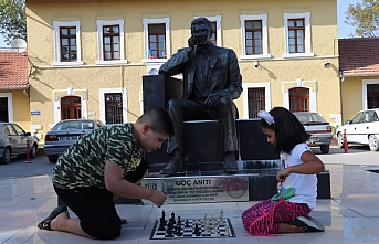 Karaman'da ''Sokakta Satranç Var''Projesine...