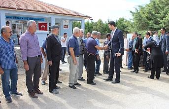 Ağızboğaz Köyünde İlkokul Binası Açılışı...