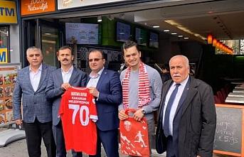 Karaman Belediyespor'dan Hollanda'ya Ziyaret