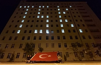 KYK'lı Öğrenciler Mehmetçiğe Selam Gönderdi