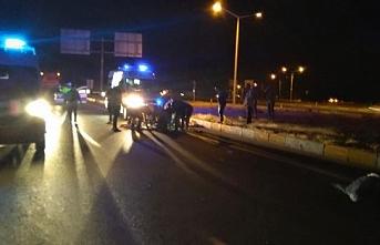 Otomobil Motosikletle Çarpıştı: 2 Ölü