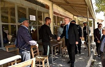 Vali Meral Akçaşehir Beldesini Ziyaret Etti