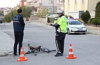 Bisiklet Sürücüsü Çocuktan Acı Haber