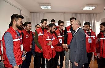 """""""Damla Projesi"""" Gönüllülerinden Ziyaret"""