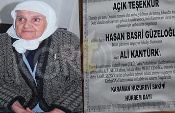 Hayırseverliği İle Tanınıyordu 91 Yaşında Vefat...