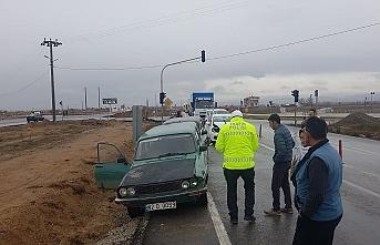 Konya'da 4 Araçlı Zincirleme Trafik Kazası
