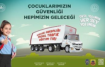 Mobil Trafik Eğitim Tırı Karaman'a Geliyor
