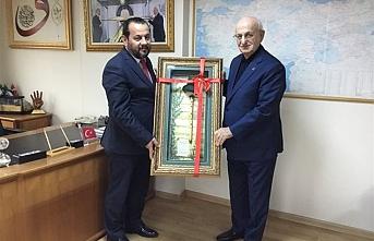 Rektör Akgül'den Kahraman`a Ziyaret